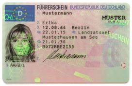 Führerschein 2013